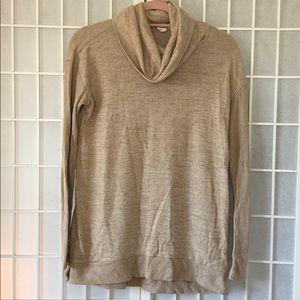 Gap tunic cowl neck sweater